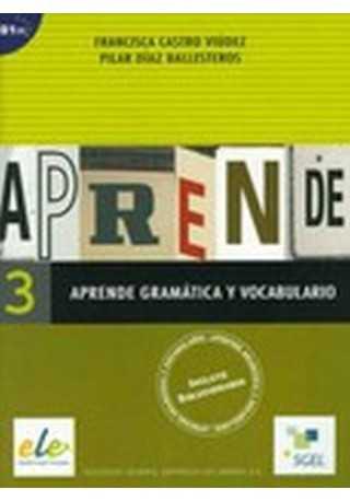 Aprende 3 Gramatica y vocabulario