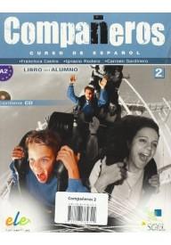 Companeros 2 podręcznik + CD audio