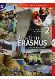 Destino Erasmus 2 podręcznik + CD audio