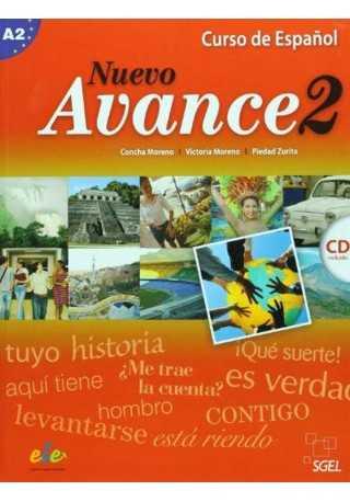 Nuevo Avance 2 podręcznik + CD audio