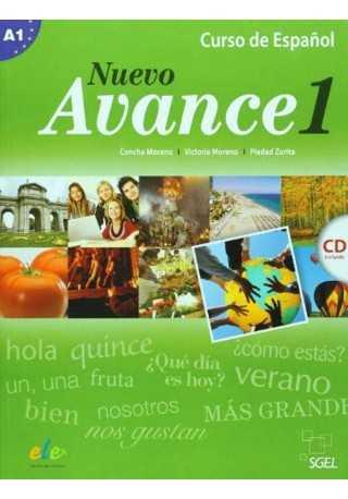 Nuevo Avance 1 podręcznik + CD audio