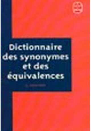 Dictionnaire des synonymes et des equivalences