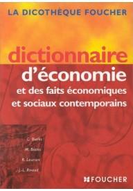 Dict.d'economie et des faits economiques et sociaux contempo
