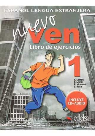 Nuevo Ven 1 ćwiczenia + CD audio