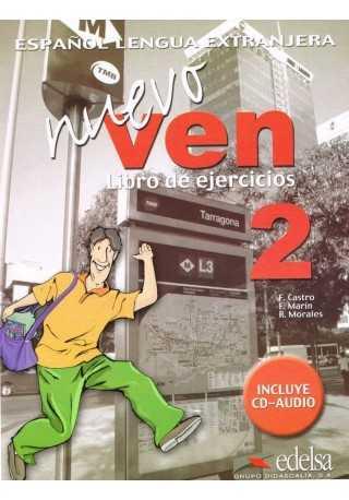 Nuevo Ven 2 ćwiczenia + CD audio