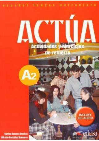 Actua A2 podręcznik + CD audio