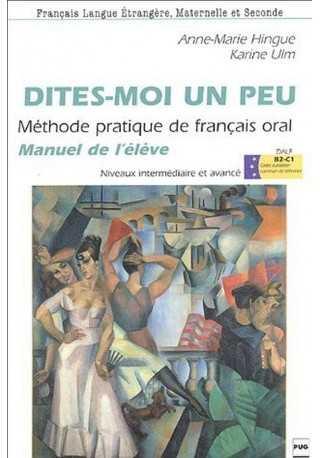 Dites-moi un peu B1-B2 książka