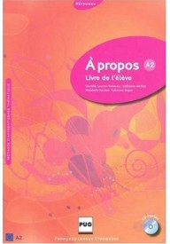 A propos A2 książka + CD