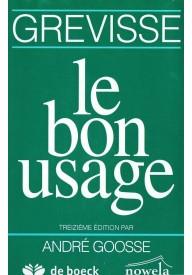 Bon usage 13e edition
