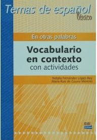 Otras palabras Temas de espanol