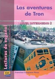Aventuras de Tron książka intermedio 2