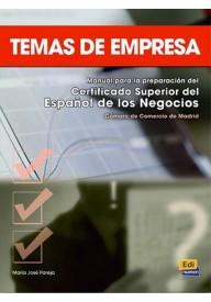 Temas de empresa podręcznik
