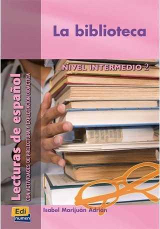 Biblioteca książka intermedio