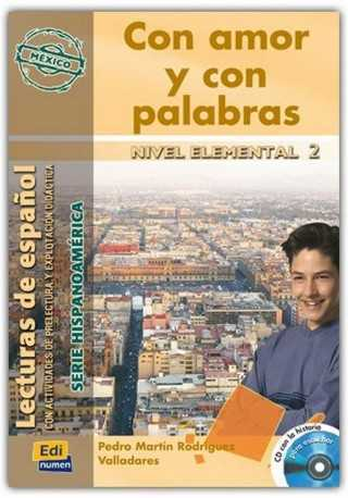 Con amor y con palabras książka + CD elemental 2