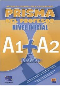 Prisma fusion A1+A2 przewodnik metodyczny + CD