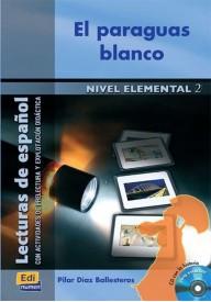 Paraguas blanco książka + CD elemental 2