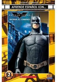 Batman el comienzo libro + CD audio