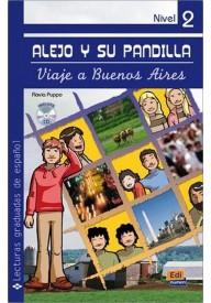 Viaje a Buenos Aires książka + CD audio