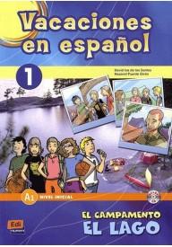 Vacaciones en espanol 1 nivel inicial A1 książka + CD audio