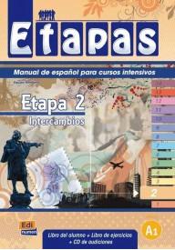 Etapas 2 podręcznik + ćwiczenia + CD audio