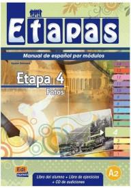 Etapas 4 podręcznik + ćwiczenia + CD audio