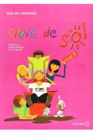 Clave de sol 1 przewodnik metodyczny