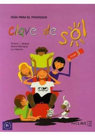 Clave de sol 3 przewodnik metodyczny