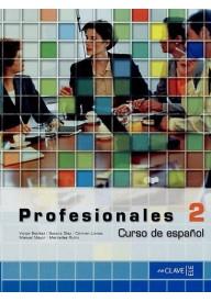 Profesionales 2 podręcznik + CD audio