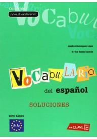 Viva el vocabulario del espanol basico soluciones
