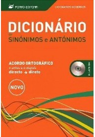 Dicionario Moderno de sinonimos e antonimos + CD rom