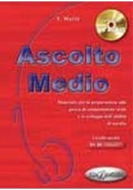 Ascolto Medio podręcznik + CD