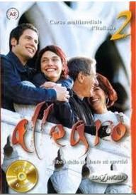 Allegro 2 podręcznik + ćwiczenia + CD