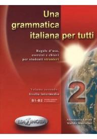 Grammatica italiana per tutti 2 livello intermedio