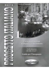 Nuovo Progetto italiano 1 przewodnik metodyczny z kluczem