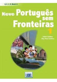 Novo Portugues sem Fronteiras 1 podręcznik + CD audio