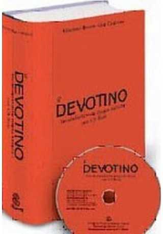 Devotino Vocabolario della lingua italiana con CD ROM