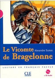 Vicomte de Bragelonne livre + CD audio niveau 3