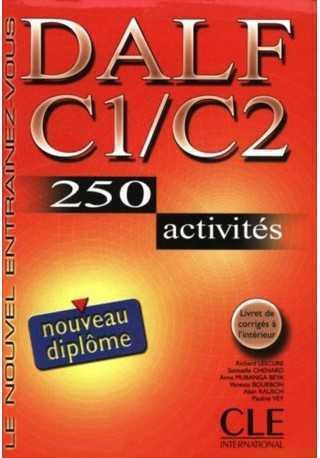 DALF C1/C2 250 activites livre