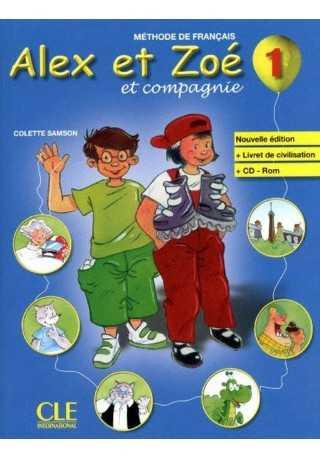 Alex et Zoe 1 podręcznik + CD Rom Nouvelle edition