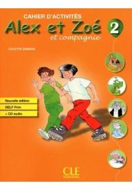 Alex et Zoe 2 ćwiczenia + CD Nowa edycja