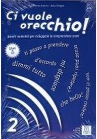 Ci vuole orecchio A2/B1 książka + CD