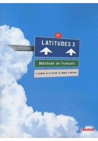 Latitudes 3 podręcznik + CD audio