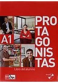 Protagonistas A1 podręcznik z ćwiczeniami + CD audio/2/