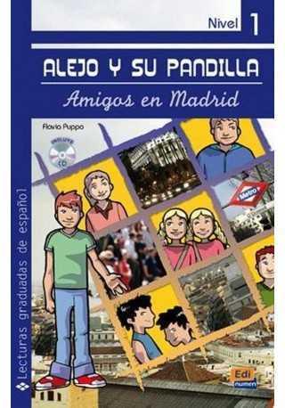 Amigos en Madrid książka