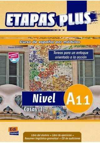 Etapas Plus A1.1 podręcznik + ćwiczenia + CD