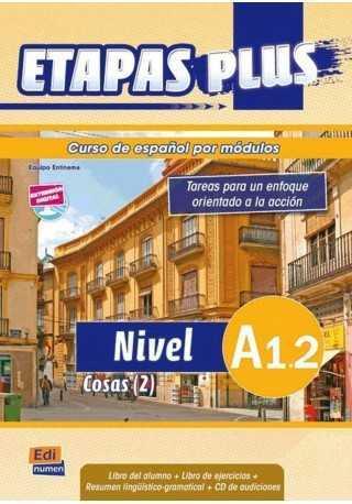 Etapas Plus A1.2 podręcznik + ćwiczenia + CD