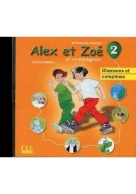 Alex et Zoe 2 CD audio piosenki Nowa edycja