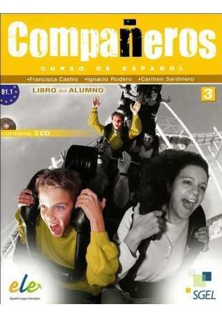 Companeros 3 podręcznik + 2 CD Audio