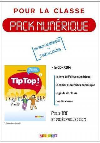 Tip Top 1 A1.1 materiały do tablicy interaktywnej TBI 5 lic.