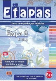 Etapas 8 podręcznik + ćwiczenia + CD audio